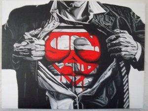Superman paint